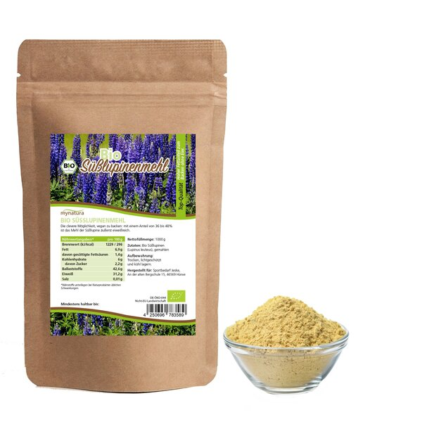 Mynatura Bio Süßlupinenmehl
