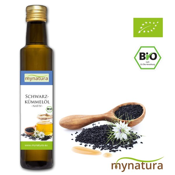 Mynatura Bio Schwarzkümmelöl kaltgepresst