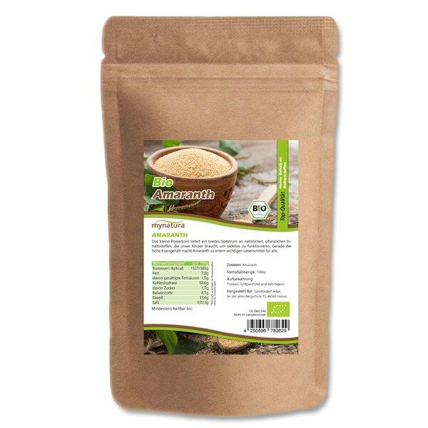 Mynatura Bio Amaranth - Vollkorn Reis Alternative Südamerika Vegetarisch