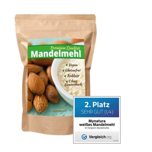 Mynatura 100% weißes Mandelmehl - Mehl Alternative Mandel Almond
