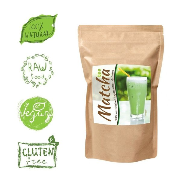 Mynatura Matcha Tee Beutel - Grüner Tee Matchatee Green Tea