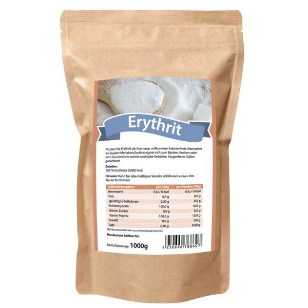 Mynatura Erythrit Zuckerersatz Kalorienfrei Süßungsmittel