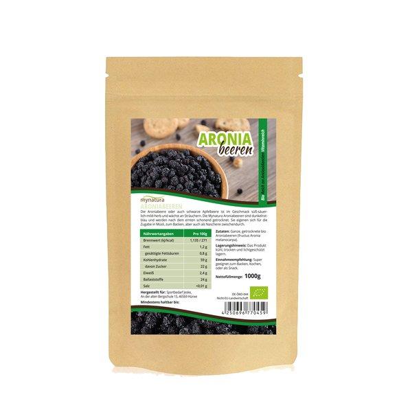 Mynatura Bio Aronia Beeren Aroniabeeren getrocknet Vitamine