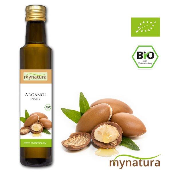 Mynatura Bio Arganöl kaltgepresst Flasche