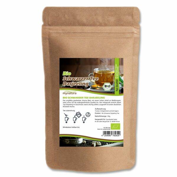 Mynatura Bio Schwarzer Darjeeling Tee