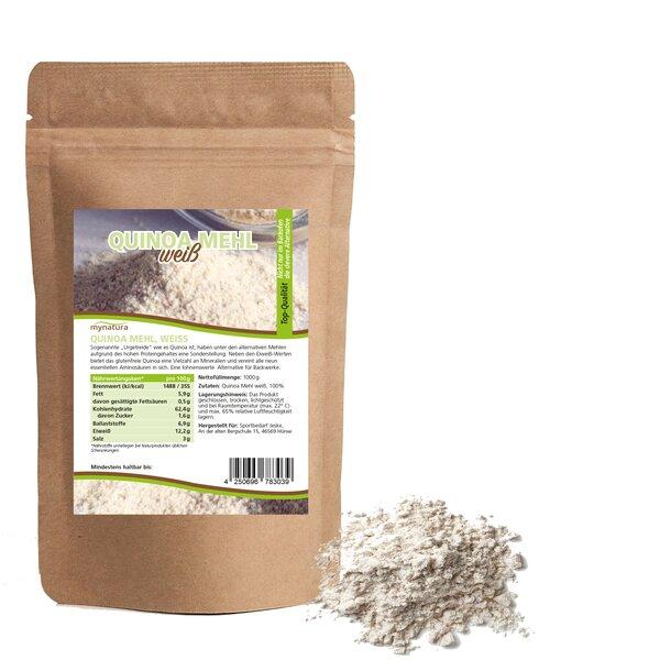 Mynatura Quinoa Mehl, weiss Mehl Alternative Kochen Backen
