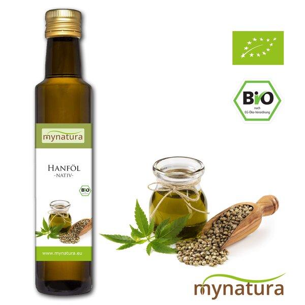 Mynatura Bio Hanföl kaltgepresst Vegan
