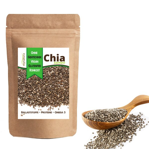 Mynatura Chia Samen - Chiasamen Müsli Chia-Seeds