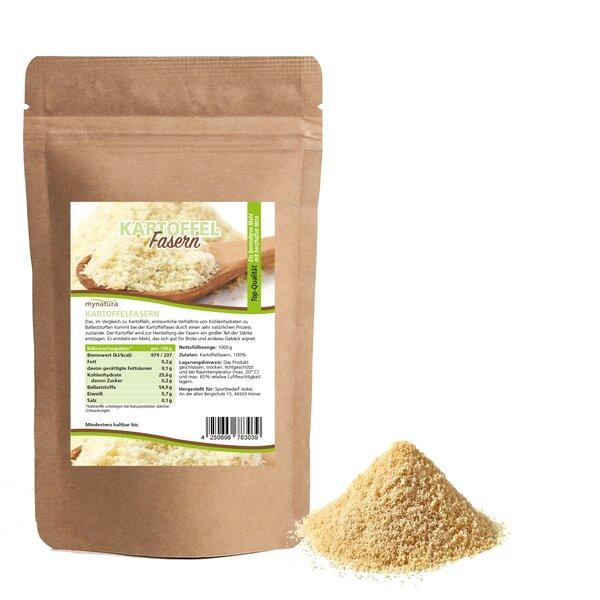 Mynatura Kartoffelfasern Kartoffelmehl Kochen Mehlalternative Kartoffel