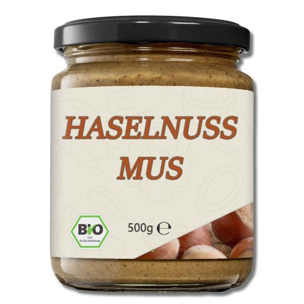 Mynatura Bio Haselnussmus 500g