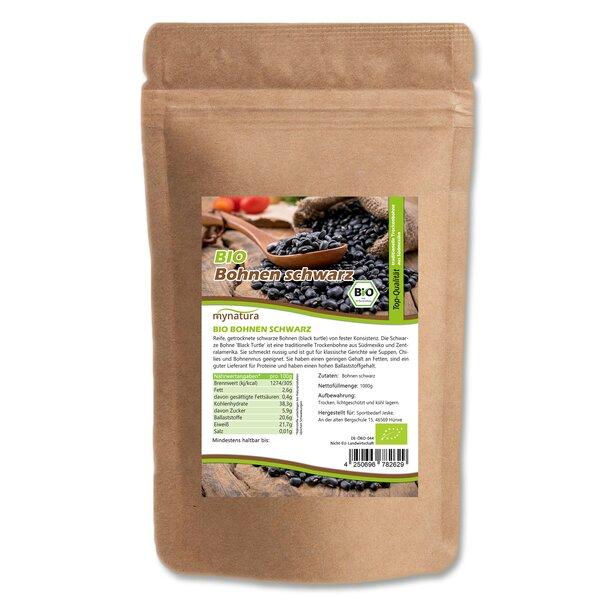 Mynatura Bio Bohnen schwarz