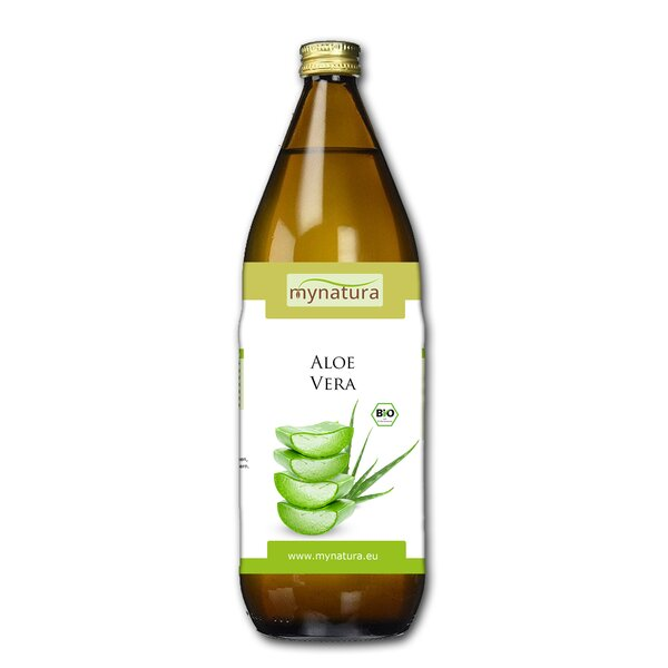 Mynatura Aloe Vera 1L - Direktsaft Pflanzensaft